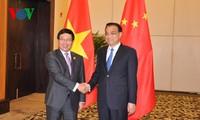 Deputy PM Pham Binh Minh meets Chinese Premier, Russian Deputy PM