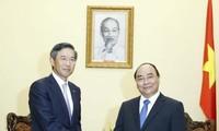 PM pledges favorable conditions for Japanese investors