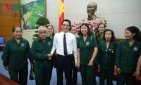 Vietnam provides care for former volunteers
