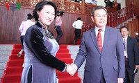 Vietnamese legislature prioritizes consolidation of special relations with Laos