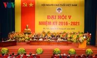 Vietnam Association of the Elderly opens 5th Congress