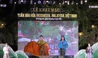 Malaysia, Indonesia, Vietnam Culture Week opens