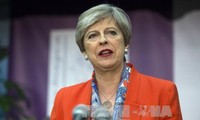 British PM Theresa May makes no change to top ministers
