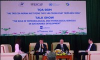Hydro-meteorology plays key role in sustainable development