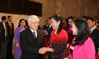 Party leader attends Vietnam Doctors' Day grand meeting