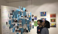 Art exhibition by young people with autism