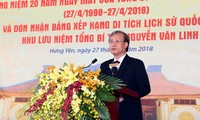 Death anniversary of Party leader Nguyen Van Linh held in Hung Yen province