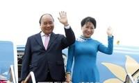 PM Nguyen Xuan Phuc arrives in Bangkok for ACMECS 8, CLMV 9
