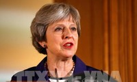 Theresa May calls for Tory unity on Brexit