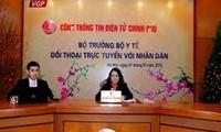 越南卫生部部长阮氏金进:确保居民享受优质卫生服务