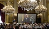 比利时领导人为恐怖袭击受害者举行哀悼仪式