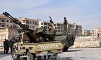 叙利亚军队限令盘踞阿勒颇的恐怖分子24小时内投降