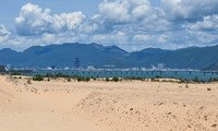 Picturesque giant sand dunes in Quy Nhon