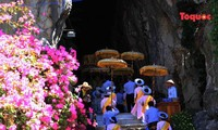 All Souls' Day festival  in Danang's Marble Mountain relic site