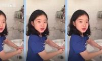 Vietnamese children in COVID-19 fight