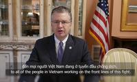 Đại sứ Mỹ ngợi ca Chính phủ Việt Nam, cảm ơn y bác sĩ tuyến đầu
