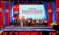 Toàn cảnh lễ kỷ niệm 75 năm ngày thành lập Đài TNVN và đón nhận Huân chương Lao động hạng Nhất