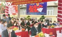 Lãnh đạo Đảng, Nhà nước thực hiện quyền bầu cử tại các thành phố lớn