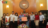 VOV offre 300 millions de dongs aux sinistrés des provinces montagneuses du Nord