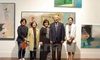 25 ans des relations Vietnam-République de Corée : Vernissage d'une exposition de beaux-arts