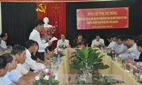 Tong Thi Phong en déplacement à Lang Son