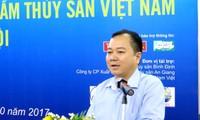 Foire de produits aquatiques vietnamiens