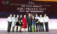VOV reçoit un prix spécial de l'ABU