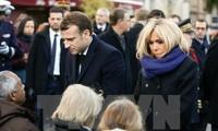 Emmanuel Macron rend hommage aux victimes du 13 novembre 2015