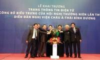 Inauguration du site web du 26ème forum parlementaire de l'Asie-Pacifique