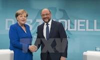 Allemagne: La CDU de Merkel pour une grande coalition avec le SPD