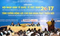 Forum sur l'intégration vietnamienne à l'économie mondiale 2017