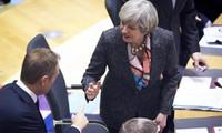 2017: difficiles négociations sur le Brexit