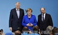 Allemagne : entre Martin Schulz et Angela Merkel, un accord macronien