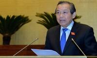 Truong Hoa Binh : pour plus de transparence dans l'emploi des fonctionnaires