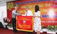 Têt: Vo Van Thuong présente ses vœux à Ho Chi Minh-ville
