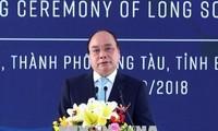 Nguyen Xuan Phuc à la mise en chantier du complexe pétrochimique du Sud