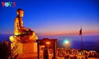 Aller à la pagode au début de l'année lunaire