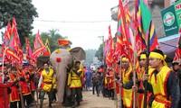 La procession de l'éléphant, une originalité du village de Dào Xa