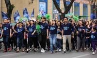 """Les étudiants répondent à la campagne """"Heure de la Terre 2018»"""