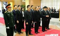 Les dirigeants de VOV rendent hommage à l'ancien Premier ministre Phan Van Khai