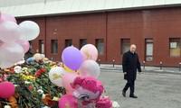 Russie: trois jours de deuil pour les victimes de l'incendie meurtrier de Kemerovo
