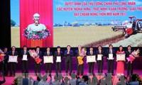 Quatre districts de la province de Nam Dinh reconnus districts néo-ruraux