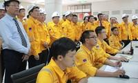 Nguyên Thi Kim Ngân à l'inauguration de l'usine de traitement du gaz de Cà Mau