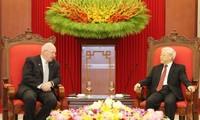 Le secrétaire général du PCV reçoit le gouverneur général d'Australie