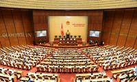 Poursuite de la 5e session parlementaire