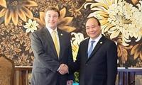 GEF 6: Le Premier ministre reçoit des représentants d'organisations internationales