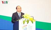Nguyên Xuân Phuc invite le GEF à mener de nouveaux projets au Vietnam
