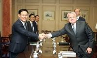 Perspectives de coopération économique entre le Vietnam et différents partenaires