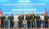 Atelier de formation pour les militaires participant aux opérations de maintien de la paix de l'ONU