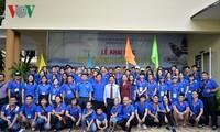 Hô Chi Minh-ville: Ouverture du camp d'été pour les jeunes Viêt Kiêu